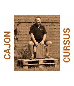 Henk Busscher Cajon Cursus  10-Lessenkaart Flexibel start elke maandag 20:00 - 21:00uur