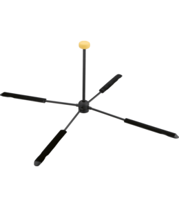 Hercules DS460B Flute Stand, TravLite, for flute with C footjoint voor dwarsfluit