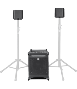 HK Audio Lucas Nano302 geluid systeem voor 80 personen