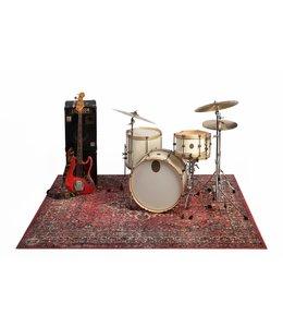 DRUMnBase VP225-ORD XL drummat Stage Vintage  Persian Original Red 225 x 185cm
