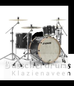 Sonor SQ1 322 GTB schwarzes Schlagzeug