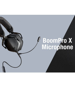 V-MODA BOOM-PRO X HEADPHONE CABLE WITH BOOM MIC FOR GAMING, WORKING