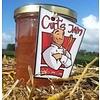 Fresh Belgian handmade rhubarb jam without sugar - 200ml