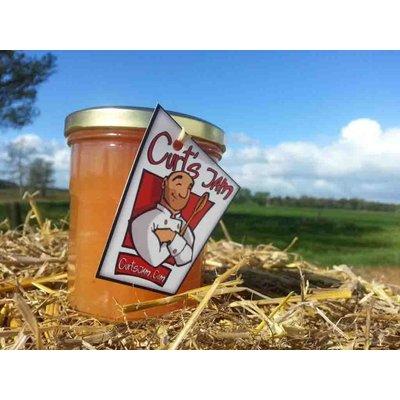 Verse handgemaakte kweeperen confituur zonder toevoeging van suiker 200 ml