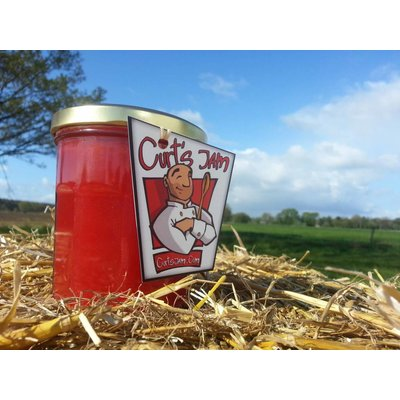 Apple cherry 200 ml (Handmade jam)