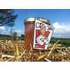 Verse Belgische handgemaakte rabarber gember confituur - 200 ml