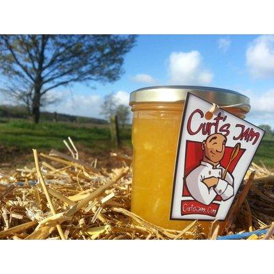 Fresh Belgian handmade Passion Fruit & mango jam - 200 ml - without sugar