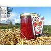 Verse handgemaakte frambozen gember jam/confituur - 200 ml