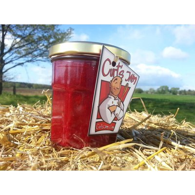 Fresh Belgian handmade Sour Cherry jam without sugar - 200ml