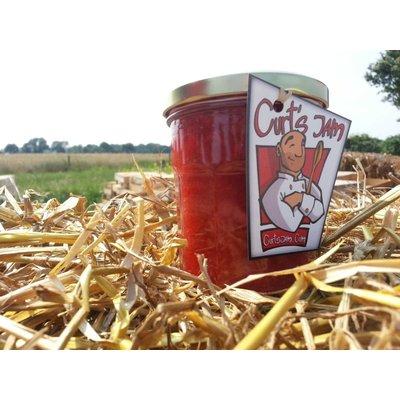 Fraise myrtille - Sans sucre 200 ml - Confiture maison fraîche recette