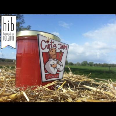 Confiture de groseille rouge artisanale Belge fraîche sans sucre ajouté - 200ml