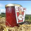 Verse handgemaakte kweepeer framboos confituur - 325 ml