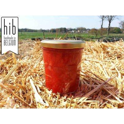 Fresh Belgian handmade strawberry with vanilla jam - 200 ml