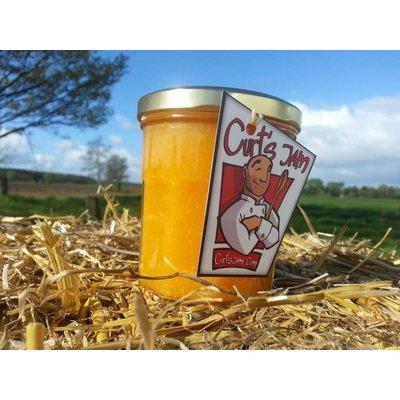 Fresh Belgian handmade orange ginger marmalade - 200 ml
