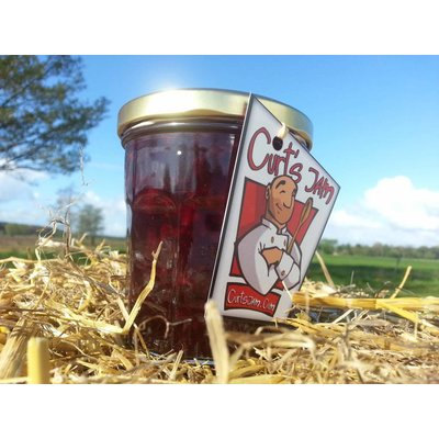 Fresh Belgian handmade sour cherries jam - 200 ml