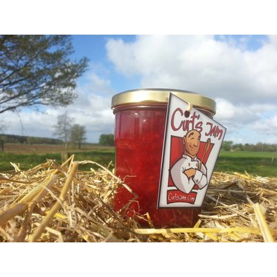 Fresh Belgian handmade black berry- raspberry - strawberry jam - 200 ml