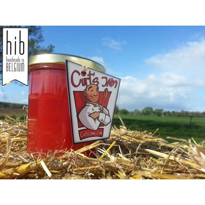 Verse Belgische handgemaakte aardbei gelei - 200 ml