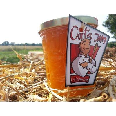 Verse Belgische handgemaakte Abrikoos pompoen confituur 200 ml
