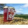 Verse Belgische handgemaakte kriek + rabarber met aardbeiconfituur zonder suiker - 200 ml