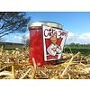 Verse Belgische handgemaakte appel met framboos jam / confituur zonder toegevoegde suiker - 200 ml
