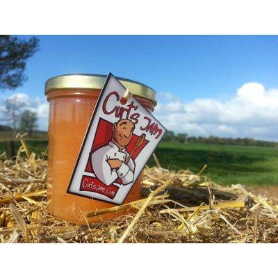 Belgische handgemaakte appel met rozijnen en kaneel confituur - 200 ml