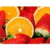 Orange strawberry jam without sugar 200 ml