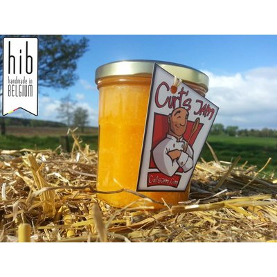 Fresh Belgian handmade clementine jam without sugar- 200 ml