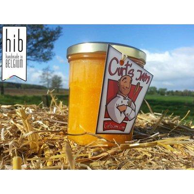 Verse Belgische handgemaakte Clementine marmelade zonder suiker - 200 ml