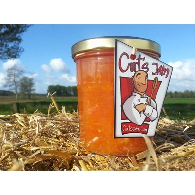 Verse Belgische handgemaakte sinaasappel met pompelmoes marmelade - 200 ml