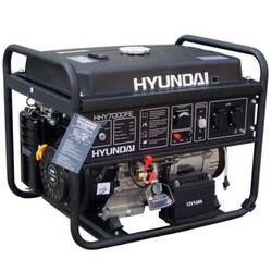 HHY7000Fe benzine motor aggregaat