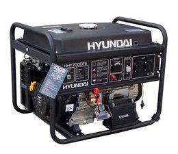 Hyundai HHY7000Fe benzine motor aggregaat