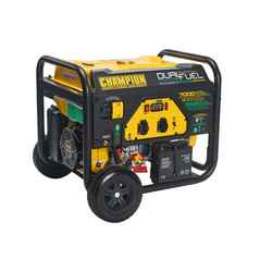 Champion 7000 Watt - 7000W - 96.8Kg - 74dB - Dual Fuel Aggregaat