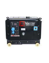 Champion Generators Warrior 5000 Watt - 5000W - 150Kg - 65dB - Diesel Aggregaat