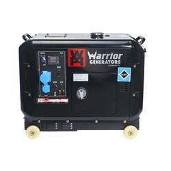 Warrior 5000 Watt - 5000W - 150Kg - 65dB - Diesel Aggregaat