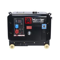 Warrior 6kW - 6000W - 150Kg - 68dB - Diesel Aggregaat