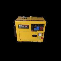 PM7500DV-AVR - Diesel Aggregaat - Dual Power