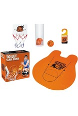 Gadget Dojo Toilet Slam Dunk Toilet Basketbal Set Sport Speelgoed