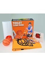 Gadget Dojo WC-Slam Dunk WC Basketball Set Sport Spielzeug