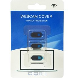 Gadget Dojo Webcam Cover Privacy Protector Ultradun - 3 stuks - Webcam Slider