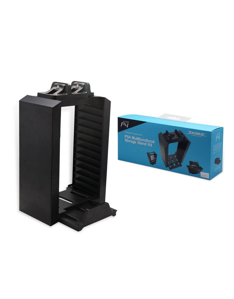 Gadget Dojo Multi-Konsole Stand, Game Disc-Turm und Ladegerät für PS4
