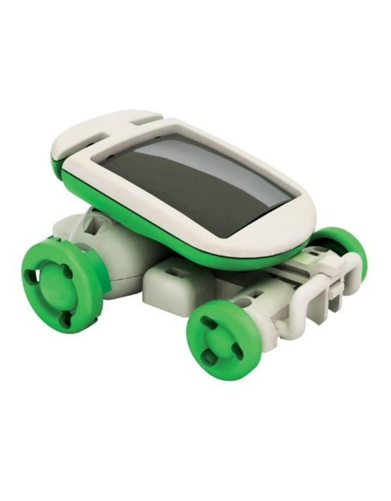 Geeek 6-in-1 Mini Solar Robot Kit Leerzaam Bouwpakket