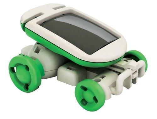 6-in-1 Mini Solar Robot Kit Leerzaam Bouwpakket