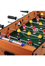 Geeek Mini Tafelvoetbal Spel Hout 70 cm