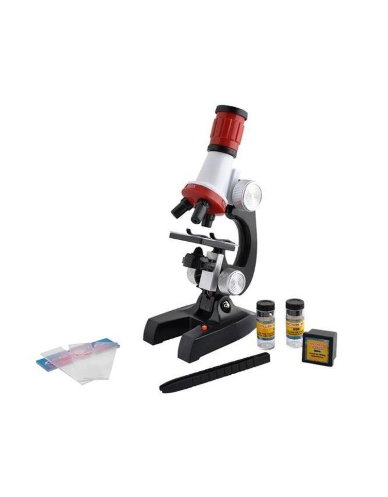 Gadget Dojo Kinder Junior Mikroskop 100X-1200X Labor Lernspielzeug Kinder