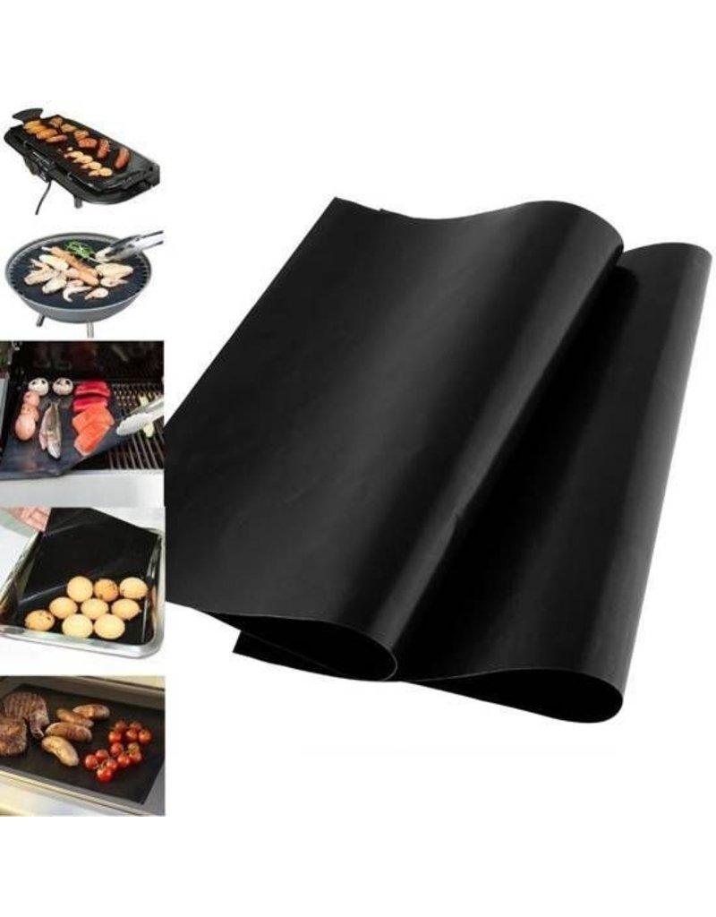 Gadget Dojo Ofenschutz / BBQ Grillmatte - Hitzebeständig und wiederverwendbar - 2 Stück