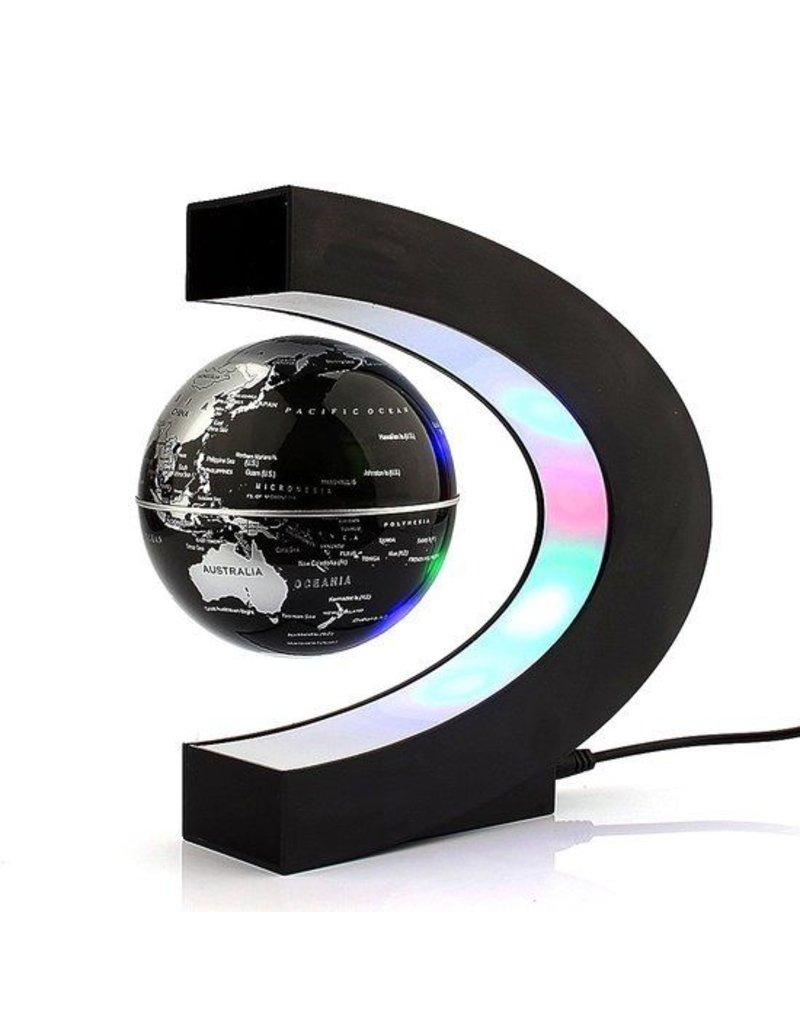 Gadget Dojo Magnetische Zwevende Wereldbol - Met LED verlichting