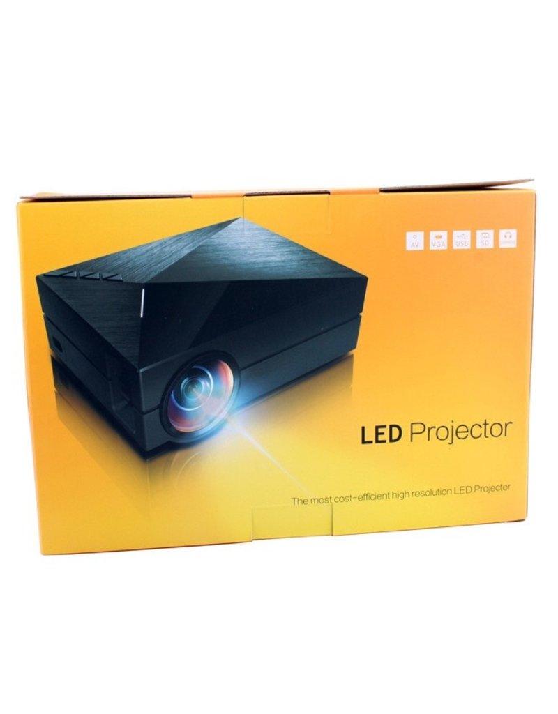 Gadget Dojo Mini Designer LED Beamer Projector 1000 Lumes