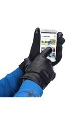 Gadget Dojo Handschuhe für Smartphone / Touchscreen - Kunstleder - Schwarz