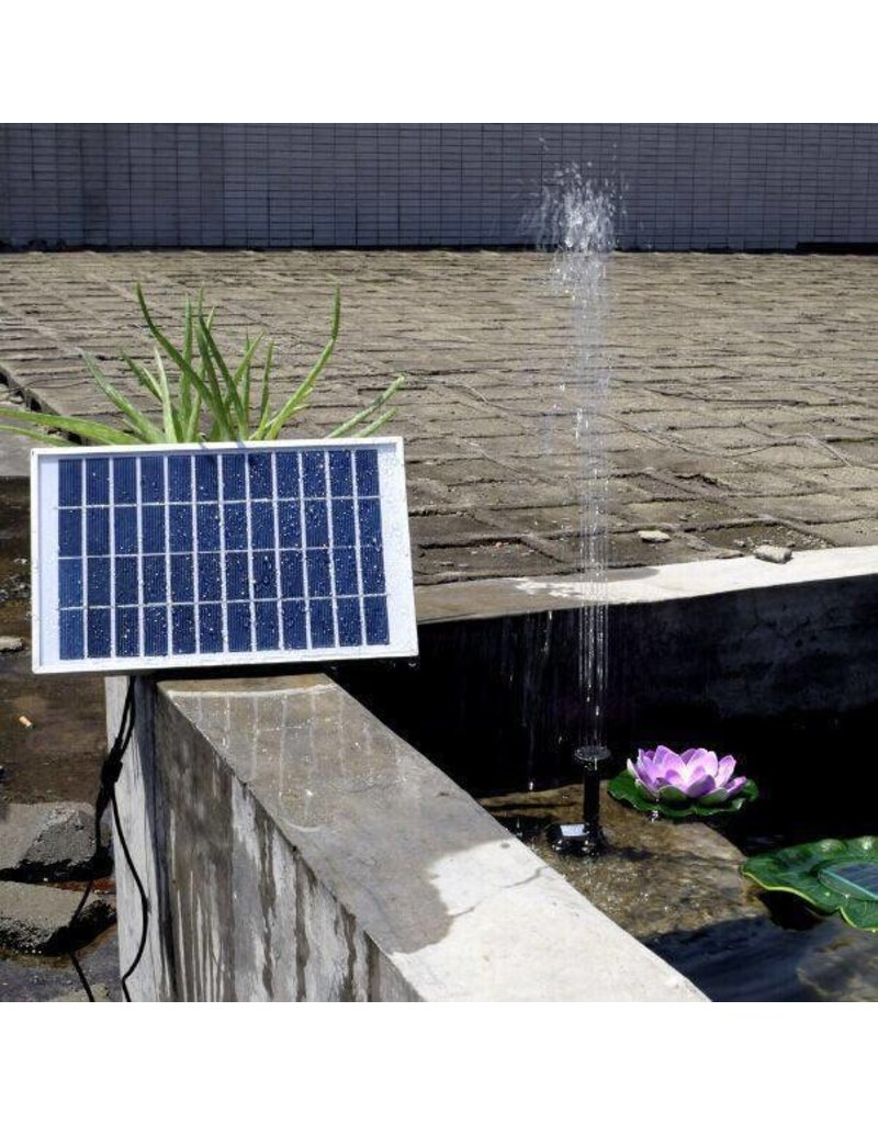 Gadget Dojo Starke Waterpompset Solarbrunnen Solar Energy
