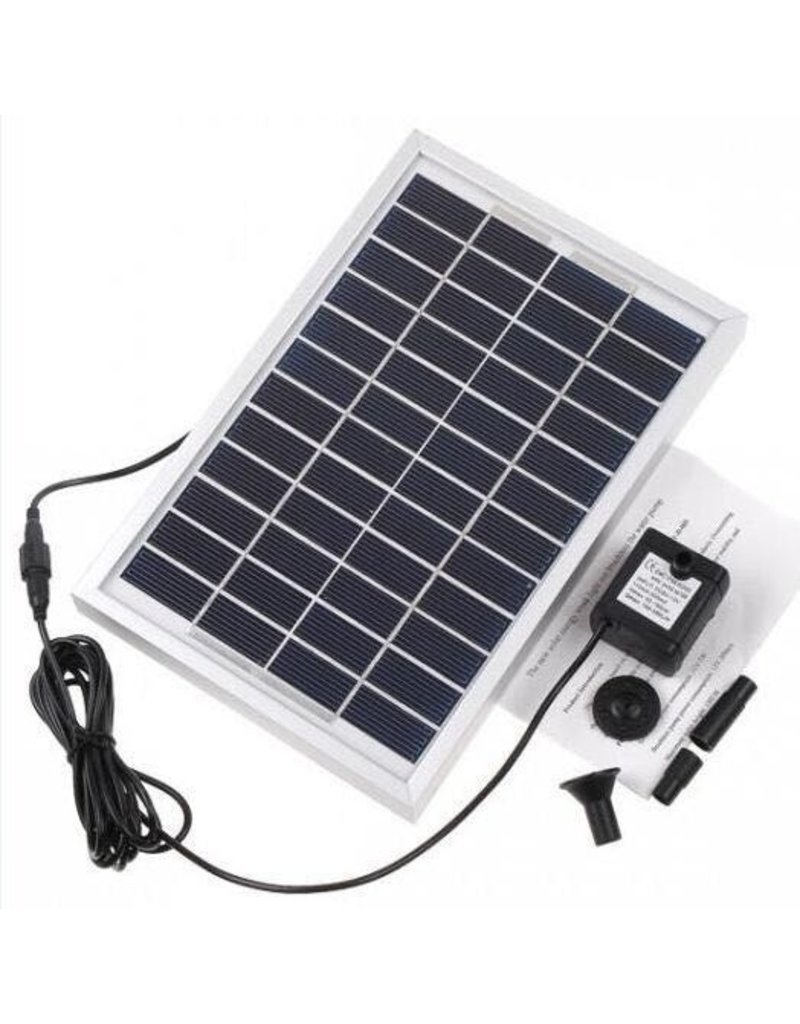 Gadget Dojo Sterke Solar Waterpompset Fontein Zonne-Energie